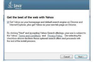 Oracle ha decidido sustituir Ask por Yahoo! en actualizaciones de Java