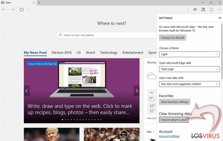 How to reset Microsoft Edge?