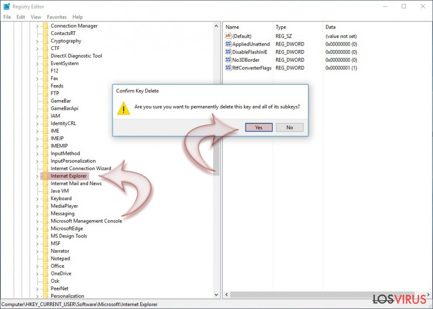 ¿Cómo reiniciar Internet Explorer? foto