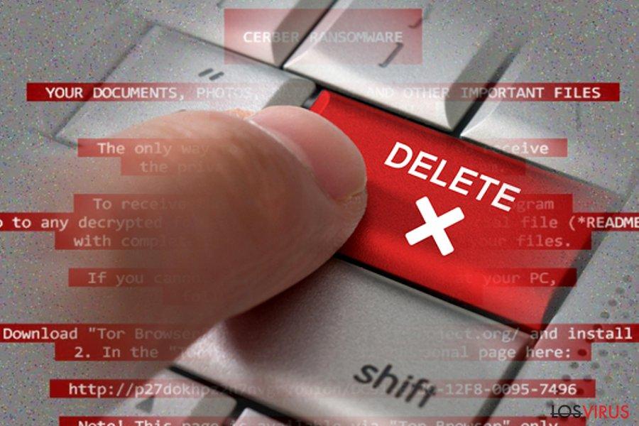 Cómo eliminar un ransomware