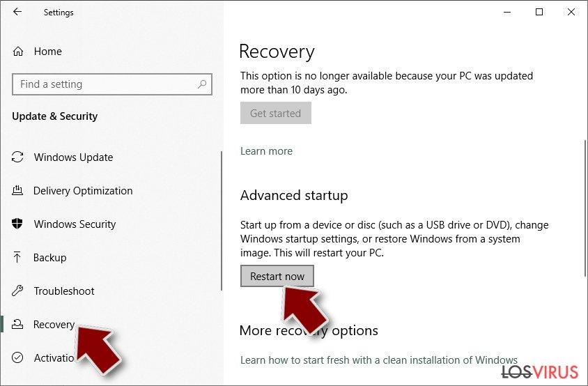 Ransomware: Eliminación manual de ransomware en Modo Seguro