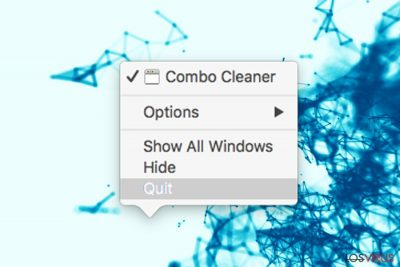 Guía de desinstalación deCombo Cleaner