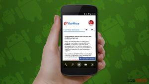 """La estafa """"Felicidades, has ganado"""" ha comenzado a molestar a los usuarios de Android"""