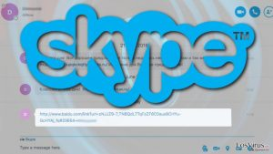 Links maliciosos señalan otro brote del virus Skype