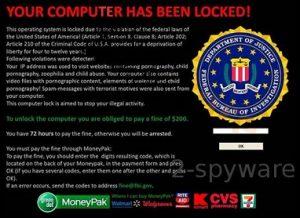 FBI advierte que se mantenga alejado de los virus de Internet haciéndose pasar por él.