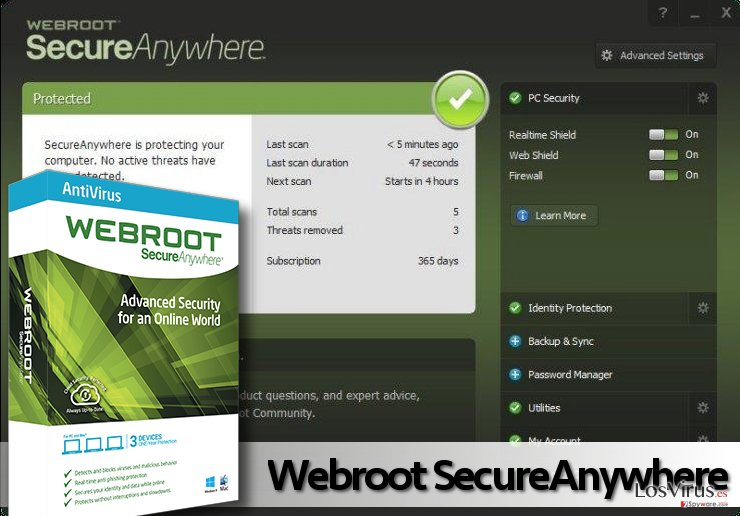 Picture of Webroot AntiVirus