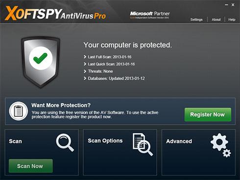 XoftSpySE Anti Spyware foto