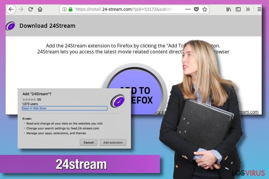 Adware 24stream
