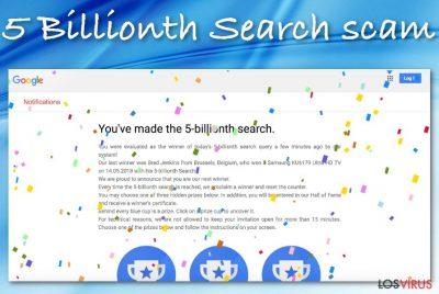 Estafa 5 Billionth Search