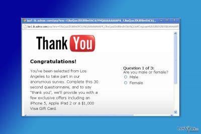 Ejemplo de los pop-up de A.Kaytri.com