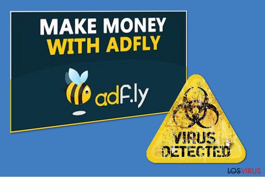 El virus Adf.ly foto
