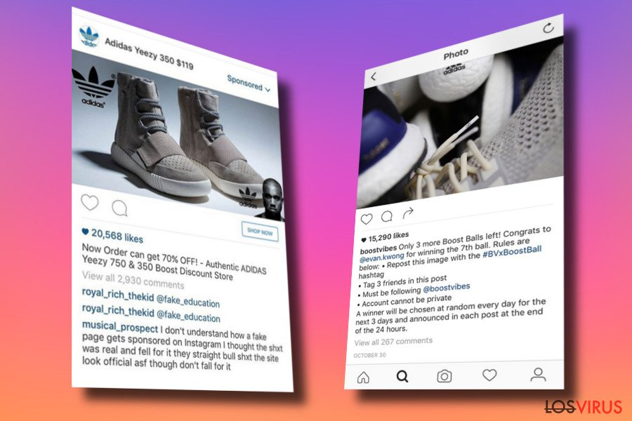a23ee42398 Eliminar el virus Instagram (Guía de eliminación) - Instrucciones de ...