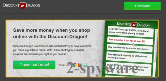 El virus 'Ads by Discount Dragon' foto