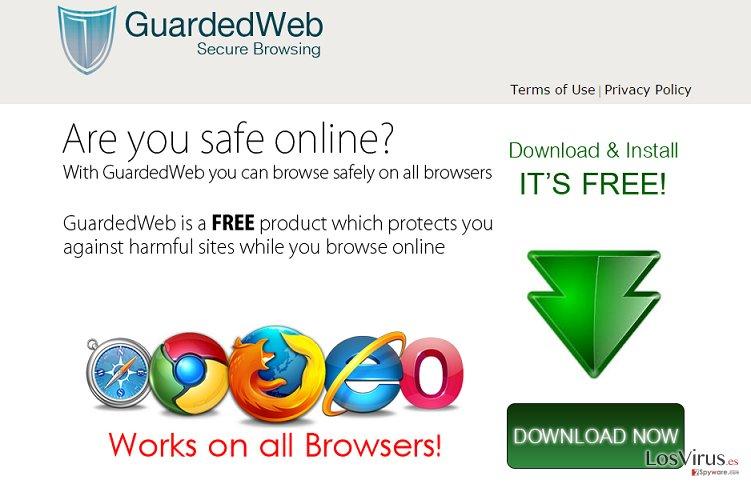 Los anuncios de GuardedWeb foto