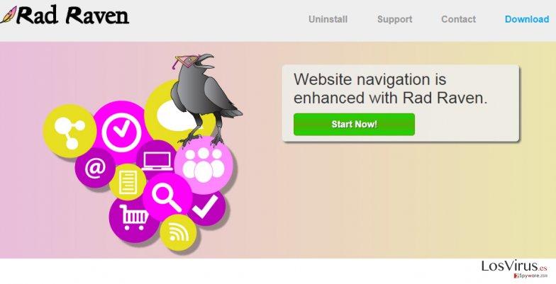 Los anuncios de Rad Raven foto