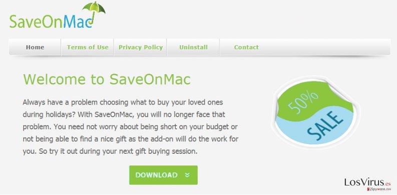 SaveOnMac foto