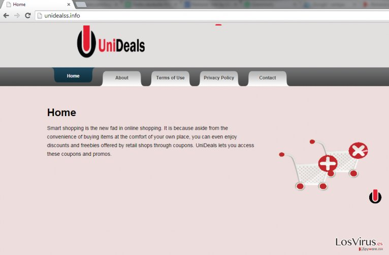 Los anuncios de UniDeals foto