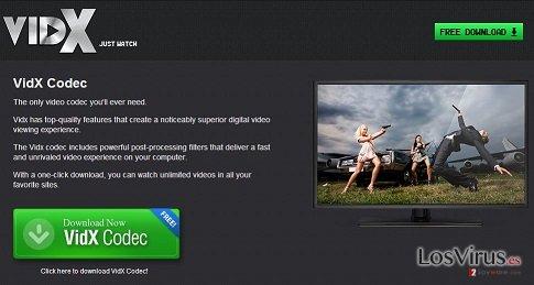 Los anuncios de Vidx foto
