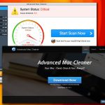 El virus Advanced Mac Cleaner foto