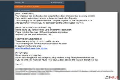 El ransomware Aleta