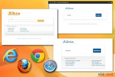 Hacker de navegador Alhea