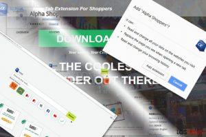 Los anuncios de AlphaShoppers