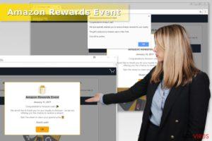 "Estafa Amazon Rewards Event"""
