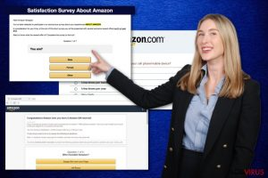 Amazon Shopper Satisfaction Survey scam