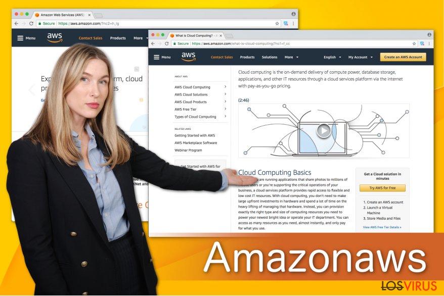 Ilustración de Amazonaws