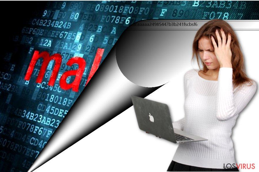 La imagen que muestra Apple-panda.com
