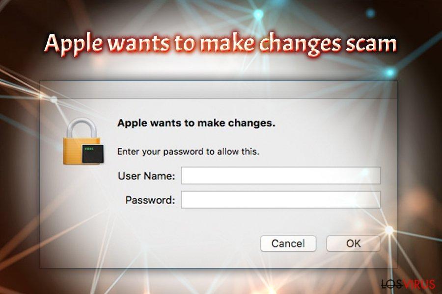 Virus Apple quiere realizar cambios