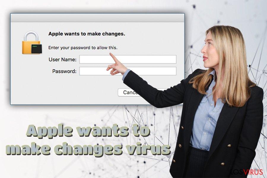 Adware Apple quiere realizar cambios