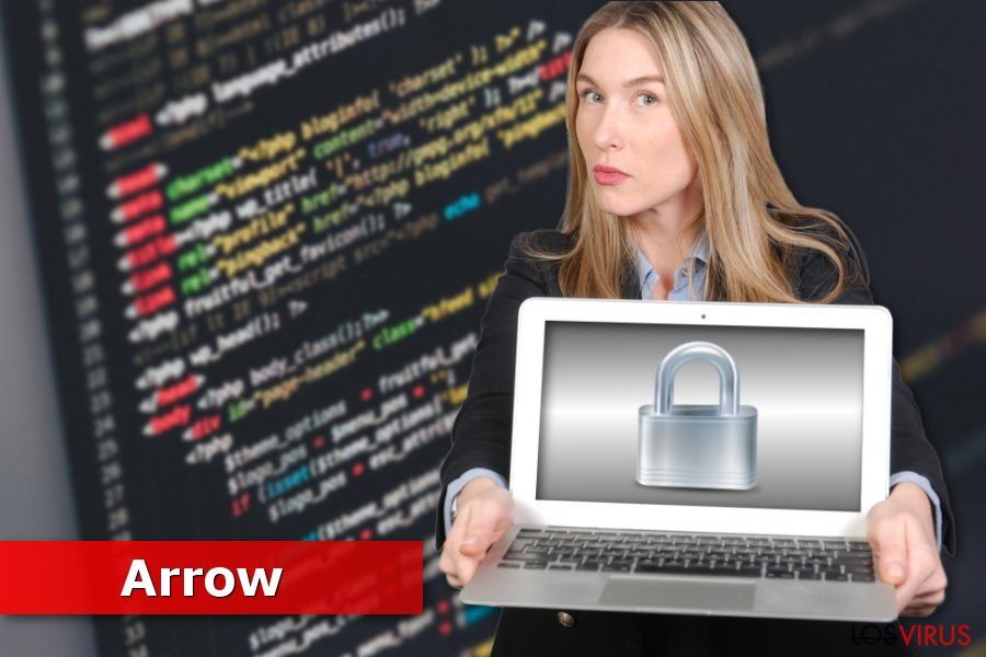 Imagen del ransomware Arrow