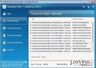 AVbytes Win 7 Antivirus 2015 foto