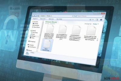 El ransomware Badfail@qq.com bloquea los archivos personales y los convierte en ilegibles