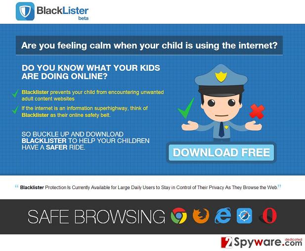 Los anuncios de BlackLister foto