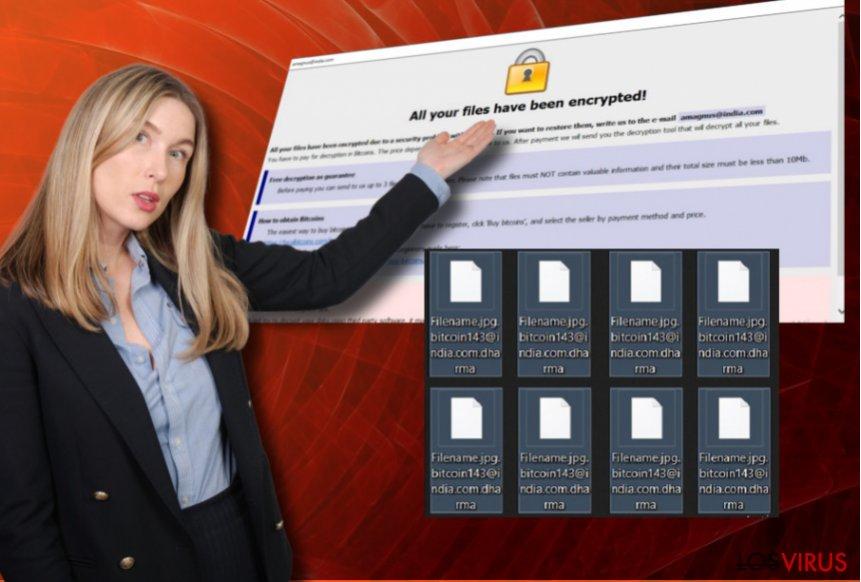 El virus Blammo@cock.li coloca una nota de pago y pide dinero