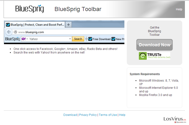 BlueSprig Toolbar foto
