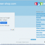 Browser Shop foto