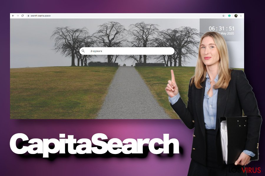 Virus CapitaSearc