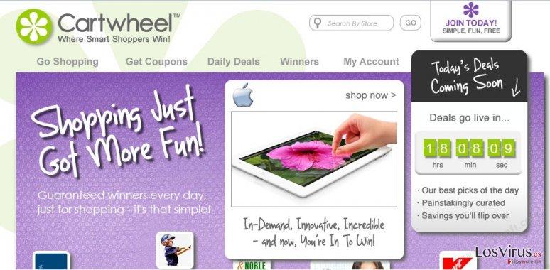 Los anuncios de Cartwheel Shopping foto