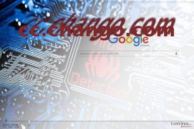 La imagen que ilustra el virus Cc.chango.com