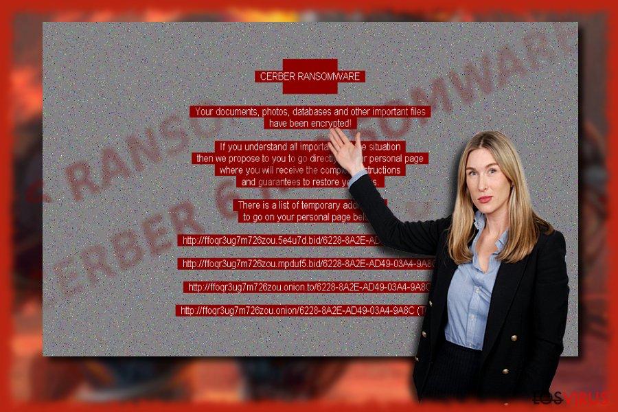 Virus ransomware Cerber 6