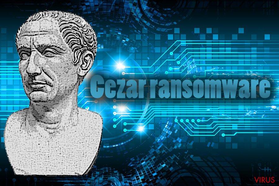 El virus ransomware Cezar foto