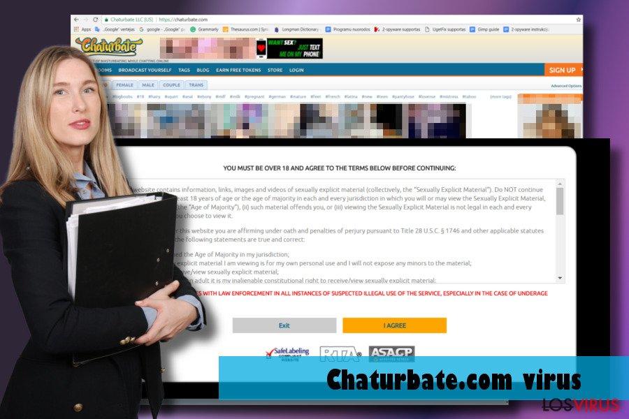 Mostrando el virus Chaturbate.com