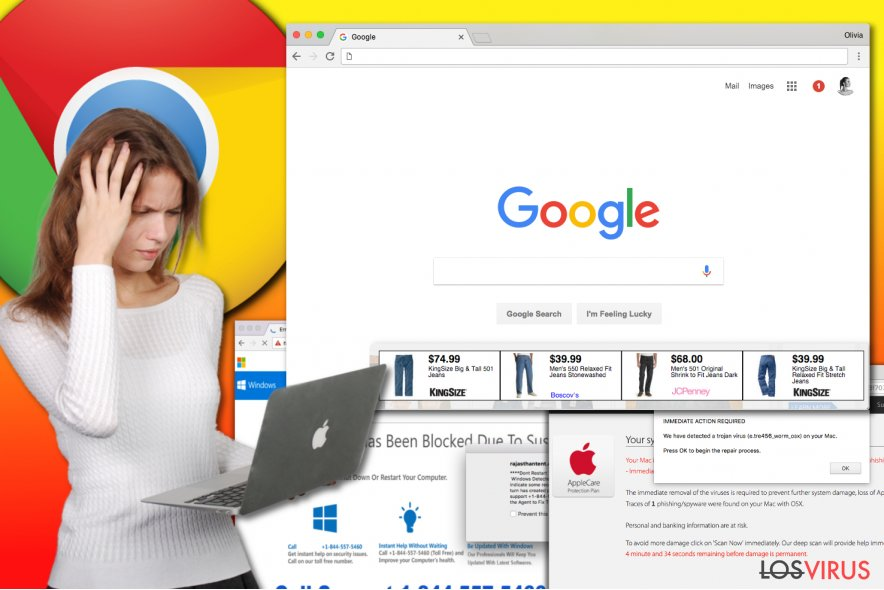 Virus adwares de Chrome