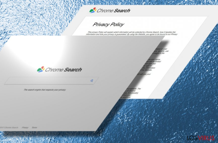 La imagen del hacker Chromesearch.today