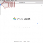 El virus Chromesearch.win foto
