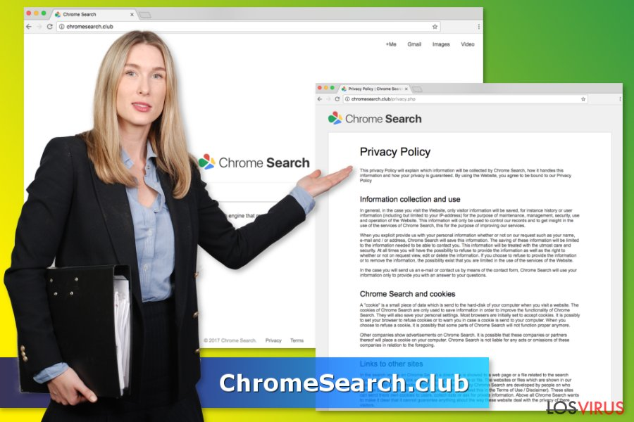 Virus ChromeSearch.club