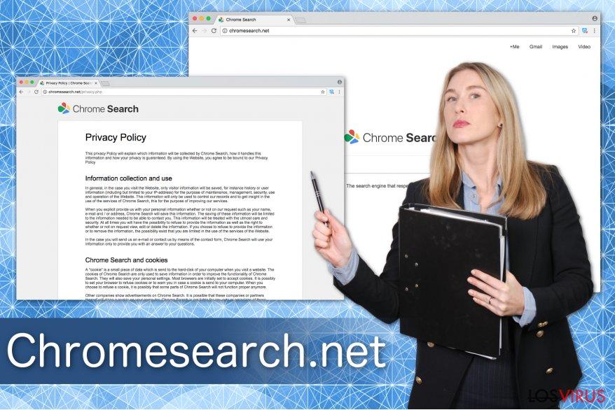 Ilustración de Chromesearch.net